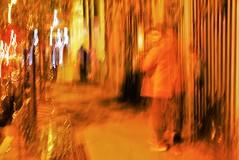 Grey Street #91b (SJ Finn) Tags: sjfinn flickr flickriver street night time movement available light blur