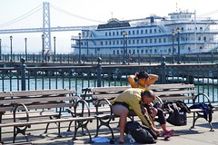 Rest (frankbehrens) Tags: california sanfrancisco kalifornien oaklandbaybridge