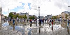 London: Trafalgar Square. (lgonzalez_l Luis Gonzlez) Tags: reinounido london londres trafalgarsquare nikon