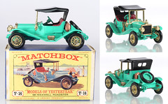 MBY-14-Maxwell-green (adrianz toyz) Tags: matchbox yesteryear diecast toy model car y14 maxwell roadster 1911 149 scale
