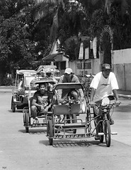 Tricycles (Beegee49) Tags: tricycle taxi street bacolod city philippines