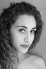 Erika (pinomangione) Tags: pinomangione portrait ritratto occhi eyes biancoenero monocromo persone