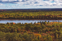 Fall Colours from the Cup and Saucer Hiking Trail on Manitoulin Island