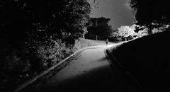 night visions.... (BillsExplorations) Tags: night dark lone path pathway shadows visions sterling illinois park martinslanding light blind