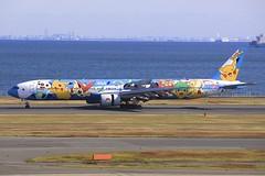 JA754A Boeing B773 HND 02Dec2012 (Citation Ten) Tags: ja754a b773 ana specialscheme hnd