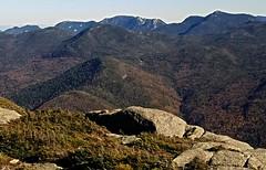 view from Wright Peak, 4580', of the Adirondacks high range. (mountaintrekker2001) Tags: adirondacks newyork wolfjawmpuntain armstrongmountain basinmountain gothicsmountain phelpsmountain bigslidemountain haystackmountain saddleback mountain