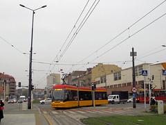 """Pesa 134N """"Jazz"""", #3823, Tramwaje Warszawskie (transport131) Tags: tram tramwaj tw warsaw ztm warszawa pesa 134n jazz"""