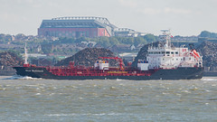 'Stolt Redshank'. (PRA Images) Tags: stoltredshank imo9566746 oilchemicaltanker ships shipping rivermersey anfield liverpool