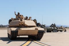M1A1 Abrams (Trent Bell) Tags: mcas miramar airshow california socal 2016 magtf demo m1a1 abrams lav hmmwv