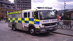 Confused? (indiaechoemergencyvehicles) Tags: british transport police london underground for tfl fire rescue engine vehicle emergency 999 kings place cross
