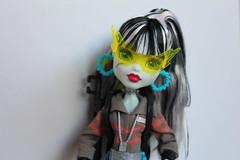 Monster High SDCC Ghostbuster Frankie (Kewpie83) Tags: mh monster high ghostbusters frankie sdcc 2016 exclusive doll toy figure