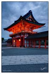 Rōmon (msankar4) Tags: rōmon senbontorii fushimiinari daiwatori daiwa fushimi kyoto japan tori rice kami inarisan paddy sake senbon thousandtori msankar sankarraman sankarramanphotography portlandphotographer photographer photography oregon