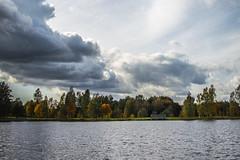 Autumn (`TOMS`) Tags: latvia vecumnieki lake old water sky cloud clouds tree trees nature outdoor nikon d3200 35mm f18 f18g afsdxnikkor35mmf18g autumn vecumnieku vecais ezers debesis dens