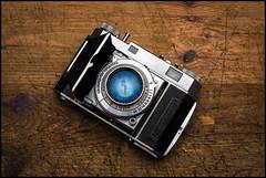 Kodak Retina II with Retina-Xenon 50mm f2 Lens (Lens Bubbles) Tags: kodakretinaii retinaxenon 50mm f2 schneiderkreuznach kodak folder