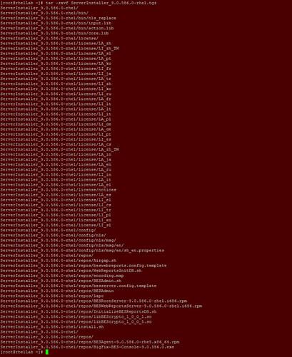 Installing Endpoint Manager v9 onto RHEL v6 3 64-bit