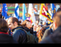 18/52 - Happy May Day! (Tmuussoni) Tags: people woman girl festival finland week18 turku flag celebration mayday soapbubble vappu wappu 2013 weekofapril29 52weeksthe2013edition 522013
