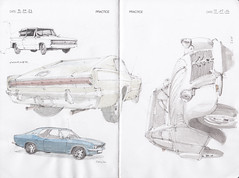 IDC Practice Page 12 (Flaf) Tags: auto colour water car pencil automobile drawing citroen dodge florian ente siegen manta charger opel freie weidenau bismarckplatz strase 2dv afflerbach breie zeichnerei idrawcars