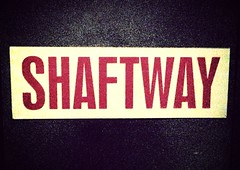 Shaftway (Stewf) Tags: sign uploaded:by=flickrmobile flickriosapp:filter=mammoth mammothfilter