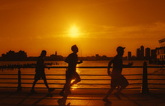 Your best is yet to come (Howard L.) Tags: sunset people sun training canon running flare runners jogging runner 50mmf14 obstacles howd 跑步 potentials 競賽 5dmiii howardlaudesign yourbestisyettocome