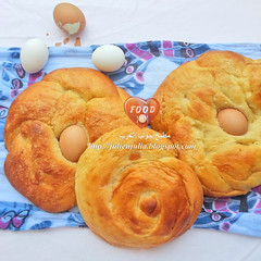 Egyptian Easter Brioche (Freska) (Food Lover ) Tags: easter baking egyptian pastry brioche