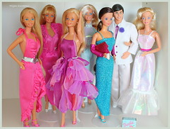 Superstars, they always have fun together (Hiljan Kuvaamo) Tags: barbie whitney superstar mattel