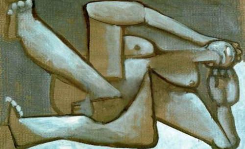 """Genealogía de las Soñantes, versiones de Lucas Cranach el Viejo (1534), Giorgione (1510), Tiziano Vecellio (1524), Nicolas Poussin (1625), Jean Auguste Ingres (1864), Amadeo Modigliani (1919), Pablo Picasso (1920), (1954), (1955), (1961). • <a style=""""font-size:0.8em;"""" href=""""http://www.flickr.com/photos/30735181@N00/8747945842/"""" target=""""_blank"""">View on Flickr</a>"""