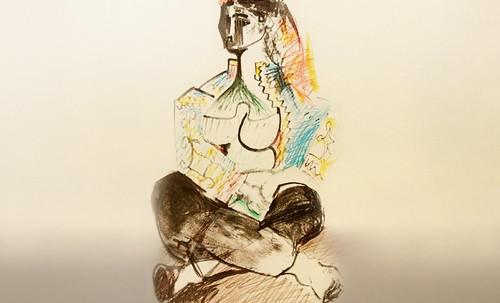 """Odaliscas (Mujeres de Argel) yuxtaposición y deconstrucción de Pablo Picasso (1955), síntesis de Roy Lichtenstein (1963). • <a style=""""font-size:0.8em;"""" href=""""http://www.flickr.com/photos/30735181@N00/8748005470/"""" target=""""_blank"""">View on Flickr</a>"""