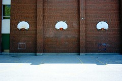Baskets (philipjohnson) Tags: street school toronto ontario canada basketball st ball nikon catholic basket 28mm humbert baskets cristo nikkor f28 santo ais senhor nikkor28mmf28ais d700