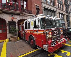 E033e FDNY Bowery Boys Engine 33, East Village, New York City (jag9889) Tags: county city nyc eastvillage ny newyork building tower station architecture truck fire 33 manhattan engine company bowery borough firehouse fdny department firefighters bravest engine33 boweryboys e033 boweryu