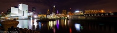 Cleveland Panorama (mmburley) Tags: rock skyline hall downtown cleveland fame roll