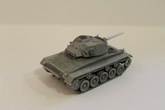 M24 Chaffee 02 (Calum Melrose) Tags: light tank wwii ken resin 1944 172 hasegawa chaffee m24 motorpool overby
