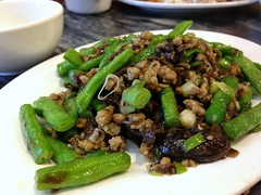 Chiu chow style vegetables with soy bean sauce from Chan Kan Kee Chiu Chow Restaurant @ Sheung Wan (Fuyuhiko) Tags: from vegetables restaurant with sauce bib style bean hong kong chow chan soy wan  source kee kan chiu gourmand sheung