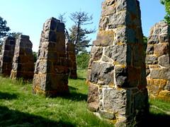 Pillars (BlueShift 12) Tags: stone island ruins pillars