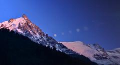 moonrise (md.creations74) Tags: moon mountain montagne alpes lune paysage chamonix montblanc aiguilledumidi