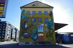 Bless (rotabaga) Tags: sverige sweden gteborg gothenburg pentax k5 graffiti gatukonst streetart artscape bless