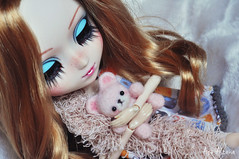 Exhausted (Açu Aizawa) Tags: pullip celsiy fullcustom customized japanese custom doll needlefelting wool felt handmade freckles