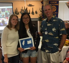 We will miss our 2015-16 Youth Exchange Student, Judy from Taiwan!