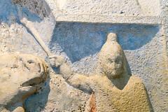 Mithrum Fertrkos, 3. Jahrhundert (Anita Pravits) Tags: fertrkos hungary kroisbach kultsttte magyarorszg mithra mithraism mithraismus mithras mithrasgrotte mithraskult mithrastempel mithraszszently mithrum mitra mythraicmysteries mrbisch relief romanempire rmischesreich sanctuaryofmithras stierttung tauroktonie tempel ungarn mithraeum shrine