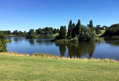 Lake at Blenheim Palace (Dave_S.) Tags: blenheim palace woodstock oxfordshire england great britain british united kingdom english gb uk capability brown landscape lake stately home iphone se water sun sunshine sunny day summer august view