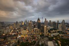 City Light of Kuala Lumpur (HakiimMislam) Tags: digitalblending sonya7 cityscape city canon wideangle malaysia kualalumpur