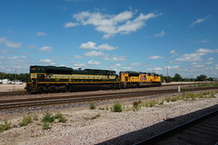 First NS Heritage Unit - Erie NS 1068 (Twang Your Head) Tags: norfolk southern 1068 erie union pacific
