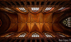 Bveda de crucero (Iban Lopez (pepito.grillo)) Tags: ibanlopez d90 chestercathedral catedraldechester chester techo roof arquitectura architecture bvedadecrucero vault georgegilbertscott choirtranseptroof choir coro