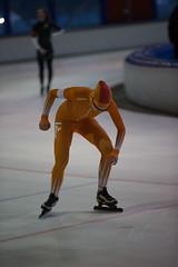 A37W7184 (rieshug 1) Tags: speedskating schaatsen eisschnelllauf skating nkjunioren knsb nkjuniorenallroundafstanden afstanden allround 50010001500massstart demeent alkmaar sportcomplexdemeent juniorenc ladies dames 500m