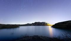 Gebas in Calmness (Netwalkers) Tags: startrails star light noche luces reflejos sunset 360 dreams dream