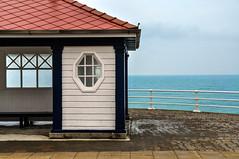 Round Wales Walk 42 - Promenade (Nikki & Tom) Tags: walescoastpath ceredigion wales uk sea coast aberystwyth promenade shelter