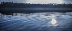 blue lake (sami kuosmanen) Tags: taivas tree tuulos trees travel suomi sky summer syksy finland forest luonto light landscape lake bokeh blue sunset sininen aurinko autumn auringonlasku art scenery sumu fog mist mets haze jrvi ilta evening