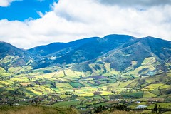 Farmers fields near Pasto.