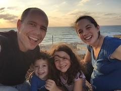 IMG_0258 (Dan_lazar) Tags: noa yoav lazar father dan selfie sea beach           mother sigal
