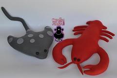 tema: fundo do mar (ovelhanegra_toys) Tags: ovelhanegratoys felt fieltro feltro feitoamo feltcraft festainfantil fundo do mar kece kee artesanato handmade manualidades festa infantil decoration decorao