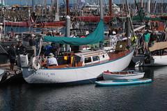"IMG_2259 - Port Townsend WA - Port Hudson Marina - 2016 40th Annual Wooden Boat Festival - SV LORELEI (BlackShoe1) Tags: washington wa washingtonstate olympicpeninsula porttownsendwa boat boatfestival woodenboat classicwoodenboat woodboat ""northwest maritime center"" ""wooden foundation"" wbf nwmc ""port hudson"" wash pacificnorthwest pugetsound jeffersoncounty eastjeffersoncounty quimperpeninsula porttownsend victorianseaport"
